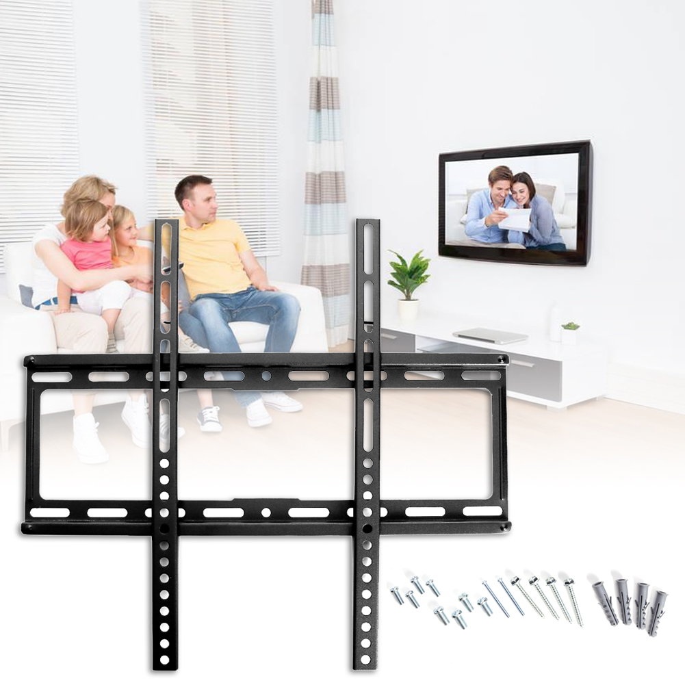 Adjustable LCD-LED TV Rack 26-47-inch General-purpose TV Stand Rack Holder For Home Wall Mounted Fixed TV Organizer