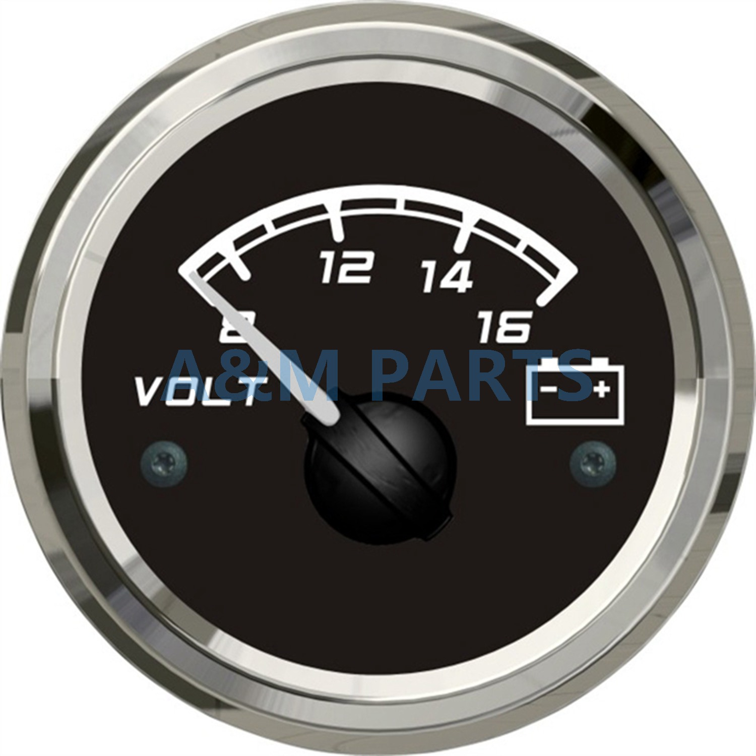 Rv Battery Voltage Gauge : Kus marine battery voltage gauge boat car truck rv