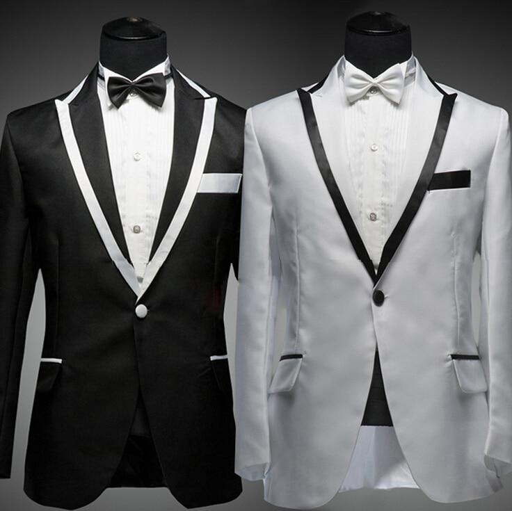 2015 New men suit wedding suits tuxedo latest coat pant designs ...