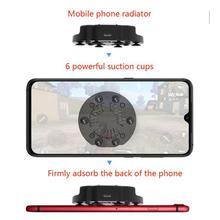Складной вентилятор Радиатор мобильный телефон кулер охлаждения Поддержка Держатель Кронштейн для iPhone samsung huawei Xiaomi смартфон планшет r25