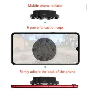Foldable Fan Radiator Mobile Phone Cooler Cooling Support Holder Bracket for iPhone Samsung Huawei Xiaomi Smartphone Tablet r25(China)