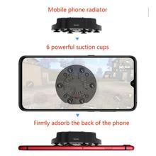 Foldable Fan Radiator Mobile Phone Cooler Cooling Support Holder Bracket for iPhone Samsung Huawei X