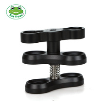 Seafrogs Aluminum Alloy Clamp Ball Joint Bracket Arm Two Section Holder Diving Essential Accessory Light Combination Fixed
