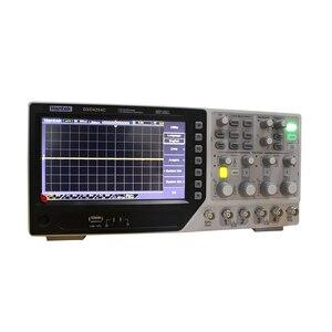 Image 5 - Hantek DSO4254C 4CH 1GS/s örnekleme hızı 250 MHz bant genişliği Dijital Depolama Osiloskop Taşınabilir Entegre USB Ana Bilgisayar/Cihaz