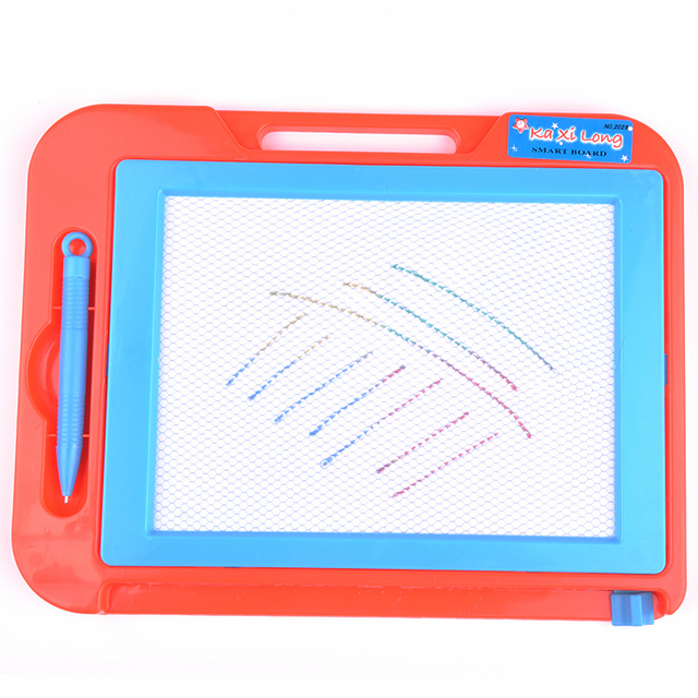 children education tool magnetic drawing board high quality plastic kid tools randomly color