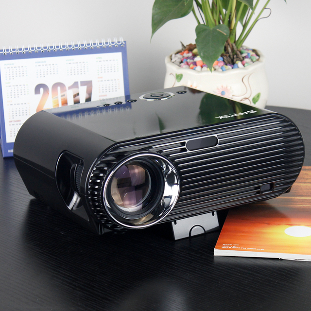 BYINTEK Movie Cinema USB HDMI FullHD LCD LED Video Projector For Home Theater 1080P