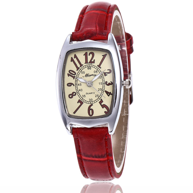 Brand Women Watches Women Genuine Leather Square Reloj Mujer Luxury Dress Watch Ladies Quartz Rose Gold Wrist Watch Montre Femme
