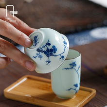 Drink Kaffee Tee-Sets, Traditionelle Chinesische Portable, Handgefertigte Keramik Teekanne Tee Tasse, reise Tee-Set, Gaiwan Teegeschirr