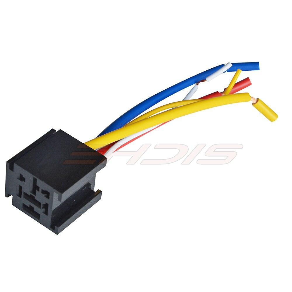 2PCS Waterproof Relay/ Automotive Relays Relay + Wire Socket Car ...