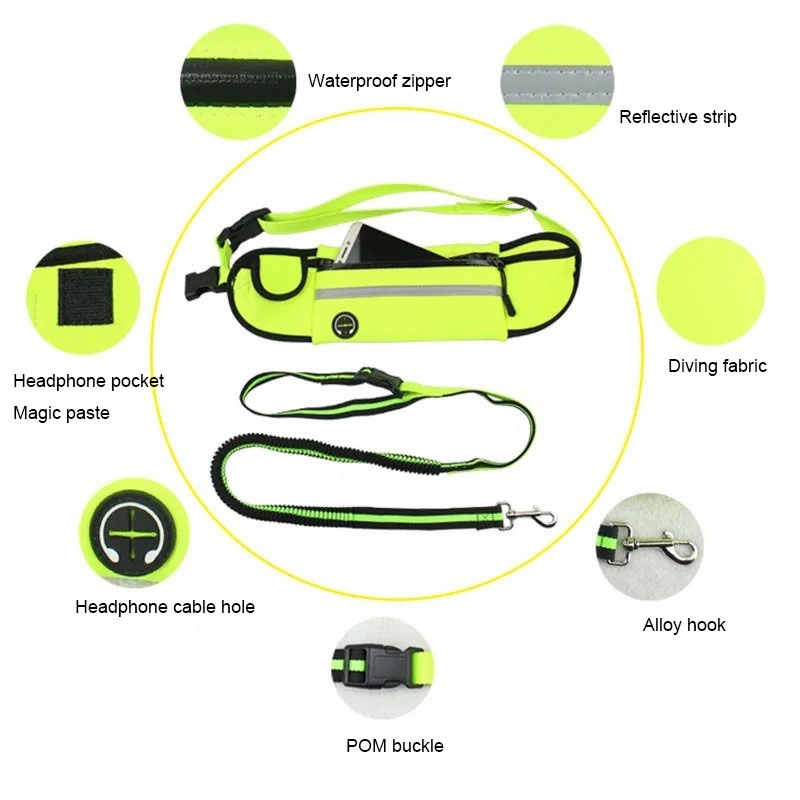 Handfree Bungee Dog Leash (10)