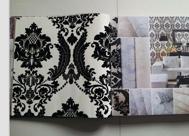popular black velvet wallpaper