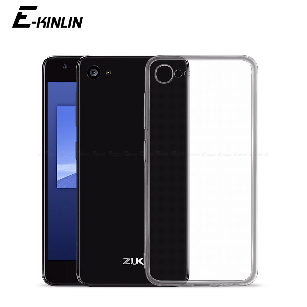 Clear Ultra Thin Soft Silicone Back Cover For Lenovo Vibe ZUK Edge Z2 Pro Plus Lemon 3 B C C2 P1 P2 Shockproof TPU Phone Case