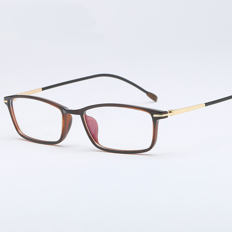 HOTOCHKI Fashion Frame Spectacles Optical Myopia Eyeglasses Frame Antiblue Eyewear Frame Men Prescription Clear Computer
