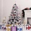 Рождественская елка, Висящий Шар, украшение, Рождественский шар, красочные, для рождества, вечерние, свадебные украшения, для дома, 4 вида, 24 шт./бочка - фото