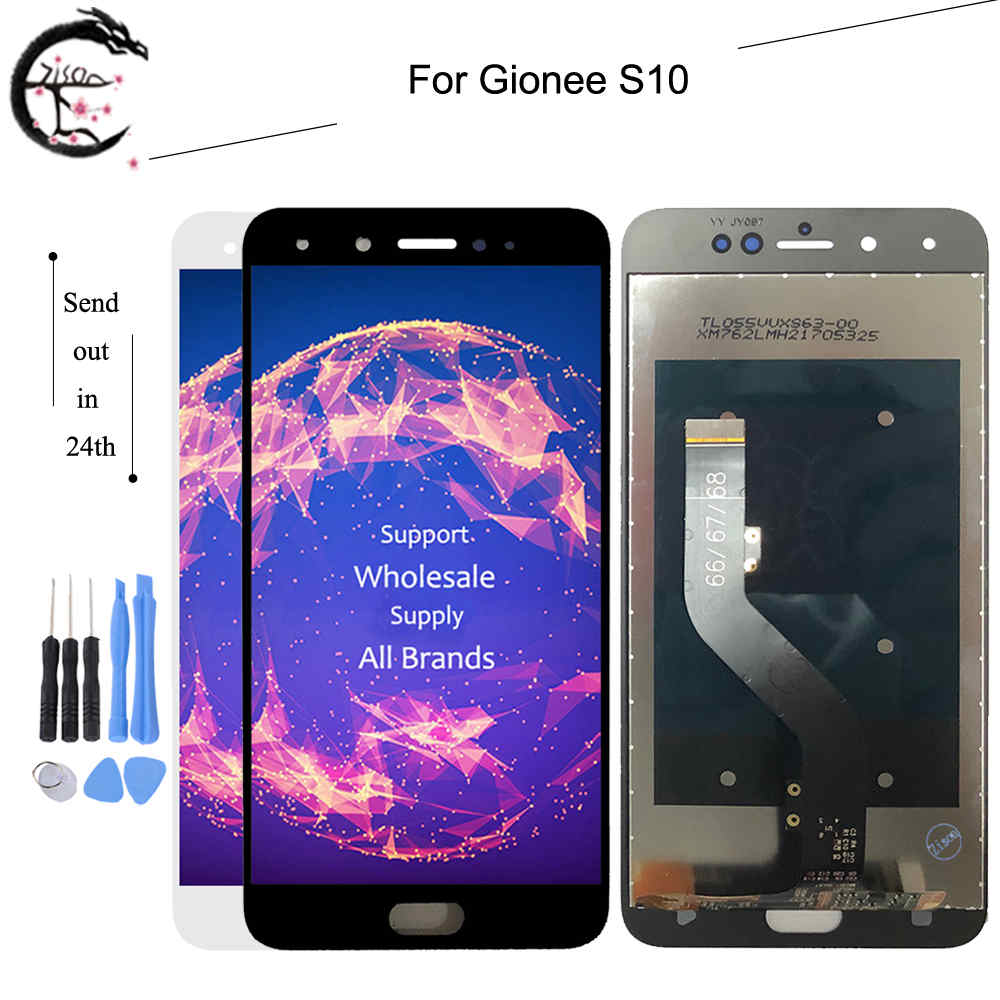 New LCD For Gionee S10 Full LCD Display Screen Touch Panel Digitizer Assembly Replacement For Gionee S10 Display 5.5 inch