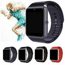 Дешевые Слизняк Bluetooth Smart часы GT08 Поддержка 2 г sim-карта TF Камера для телефона Android дети Для женщин Для мужчин Дети Smartwatch подарок PK DZ09