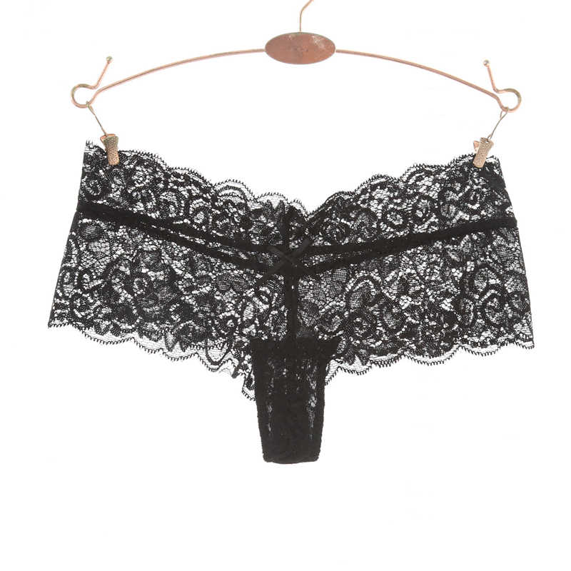 66a64ef127 Ixuejie Lace Women Sexy Panties Low Waist Hollow Transparent Panties  Underwear Seamless G String Thongs Fashion