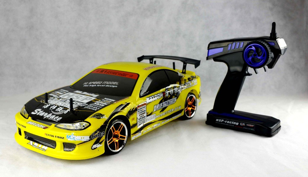 Hsp Yellow Flying Fish Electric On Road Scale Rc