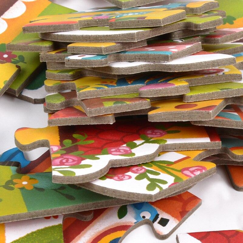 Mideer Enfants Débutant Saison Maison De Trafic Puzzle Ensemble Bébé Précoce Jouets Éducatifs Cadeau D'anniversaire Pack de 4 Boîtes - 6