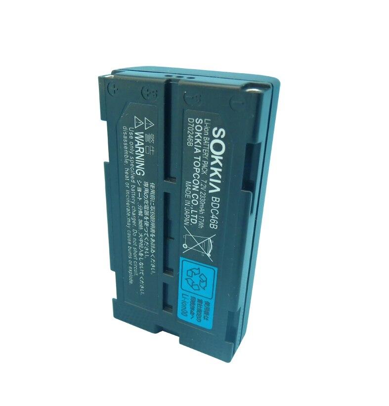 2PCS High quality battery core BDC46 Li-ion battery (7.2V, 2330mAh) For SOKKIA set total Station
