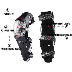 Image 5 - DUHAN الموضة للدراجات النارية منصات الركبة موتوكروس الركبة قطعة هدفين الراقية واقية التروس kneepad حماة