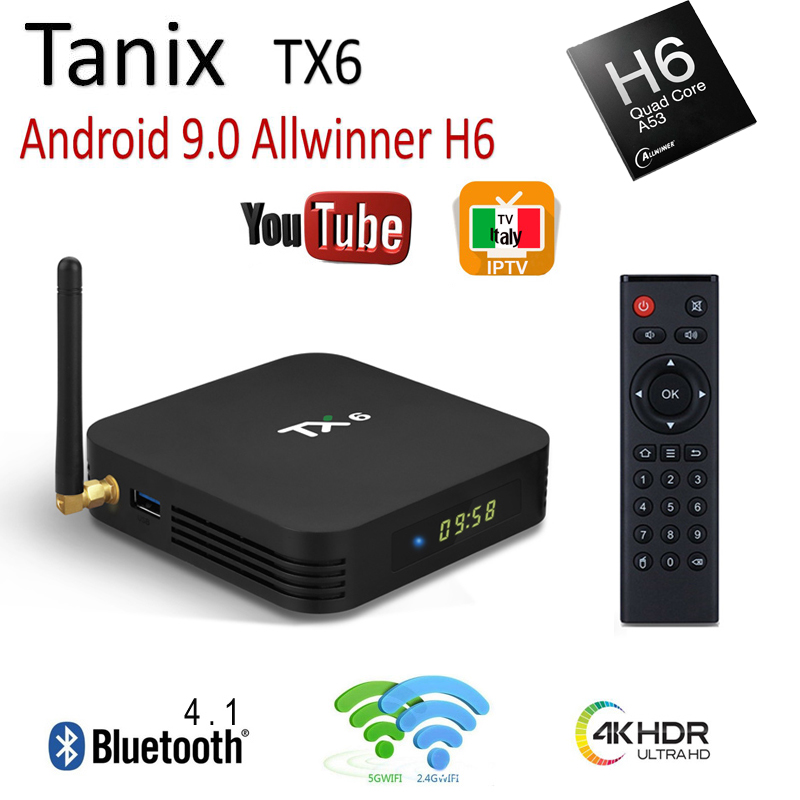 Cheap product tanix tx6 box android in Shopping World