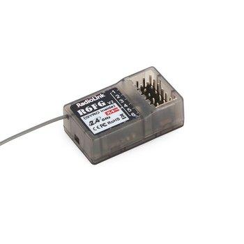 Chaud! Radiolink R6FG 2.4GHz 6 Canaux FHSS Récepteur Système De Radiocommande Gyro Intégrant Pour RC4GS RC3S, RC4G T8FB TransmitterF21425