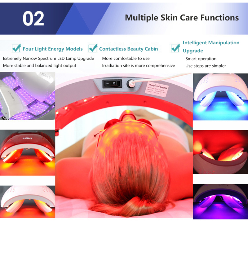 luz lâmpada facial beleza do corpo spa