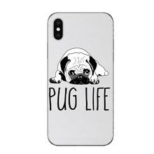 Cute Bulldog Terrier Phone Case iPhone 5 5S SE 6 6S Plus 7 7Plus 8 8 Plus X