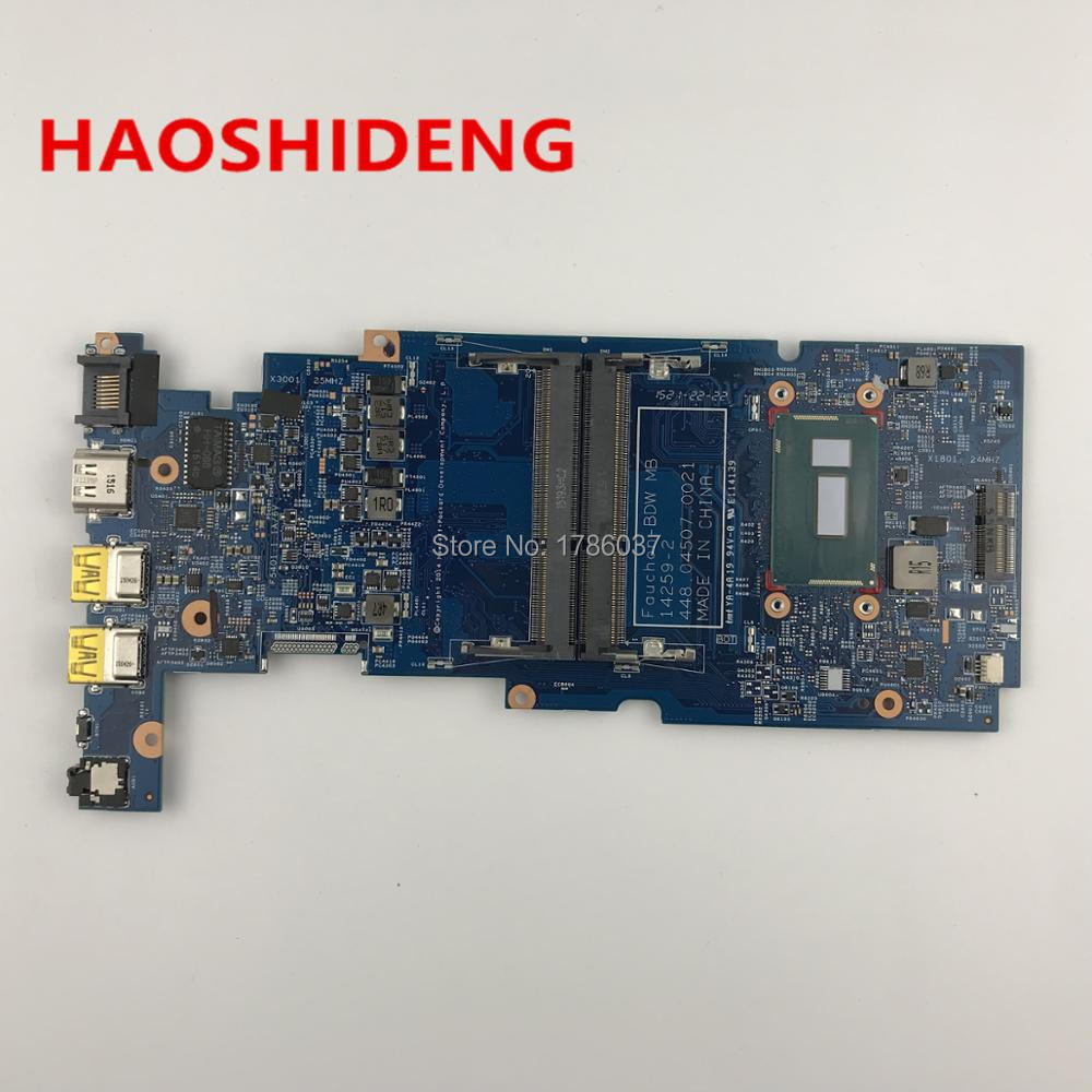 809840-601 448.04507.0021 For HP PAVILION X360 13-S 13-S020NR Laptop Motherboard with i3-5010U CPU,All functions fully Tested!