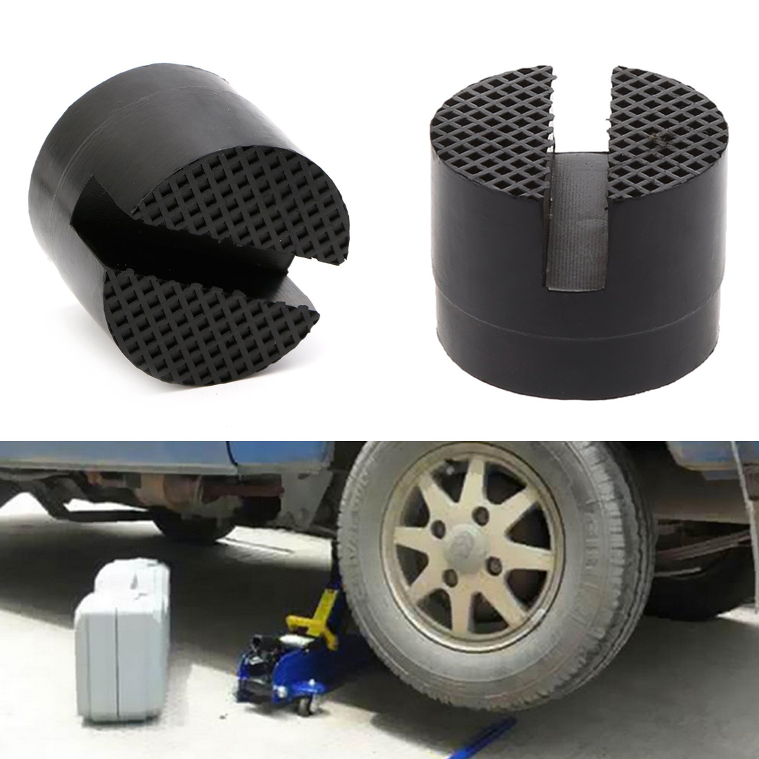 1pc Automobile Universal Bracket Rubber Pad And Jack Support Rubber Tool For Car Lift Automobile Repair Tools