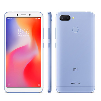 Global Version Original Xiaomi Redmi 6 5.45″ HD 18:9 Helio P22 Octa Core 3GB RAM 32GB ROM 4G LTE Mobile Phone AI 12.0MP Face ID