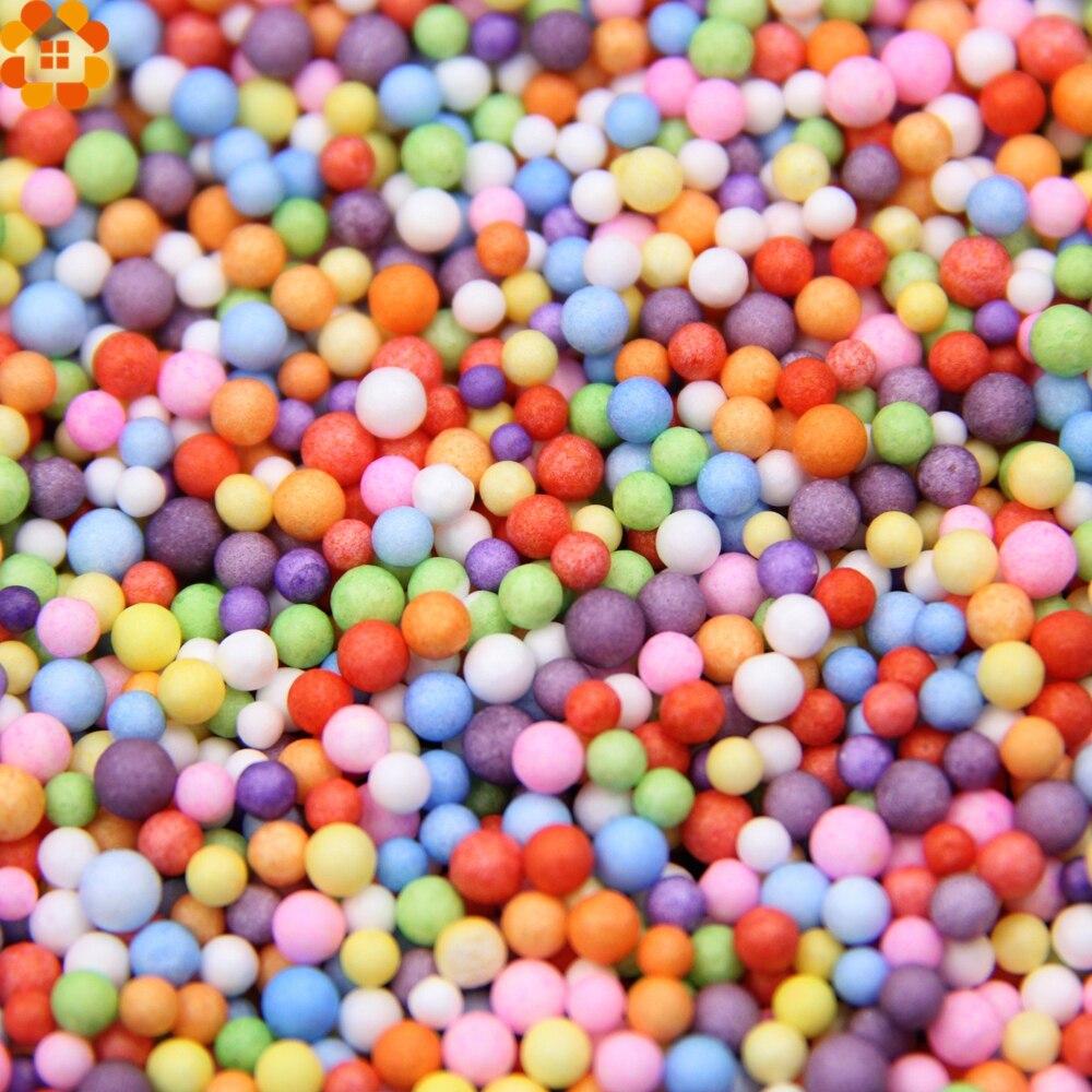 24g/Lot 2-3mm Mini Foam Balls Styrofoam Foam Ball DIY Craft Kid Birthday/Christmas/Wedding Party Decoration Supplies Kids Toys