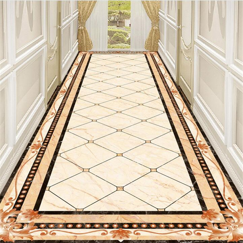 beibehang ustom flooring 3d marble corridor aisle water knife parquet pattern living room shopping mall hotel painting flooringbeibehang ustom flooring 3d marble corridor aisle water knife parquet pattern living room shopping mall hotel painting flooring