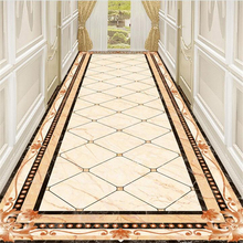 beibehang ustom flooring 3d marble corridor aisle water knife parquet pattern living room shopping mall hotel painting flooring free shipping 3d stereo plants floral green garden aisle shopping mall flooring mural wallpaper street self adhesive stickers