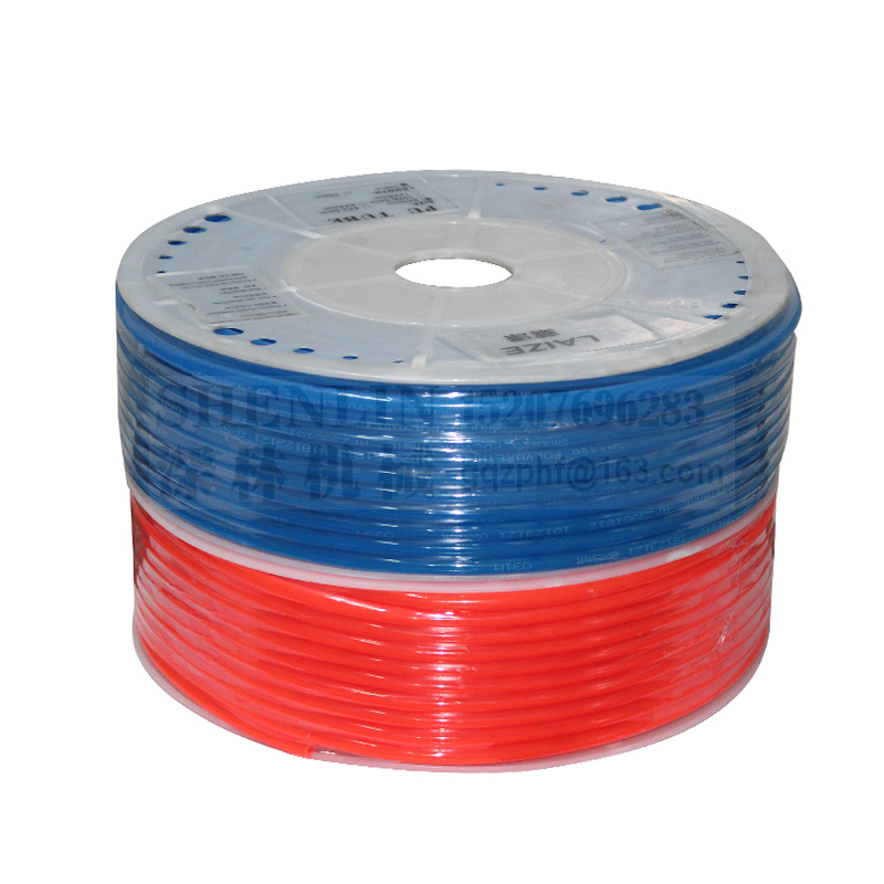 Air Tubing Pneumatic Pipe Tube Hose 10mm OD 6.5mm ID 8mmx5mm 6mm x 4mm 2.5mm 12x8mm Transparent Blue Red PU Air Gas Pipe Hose