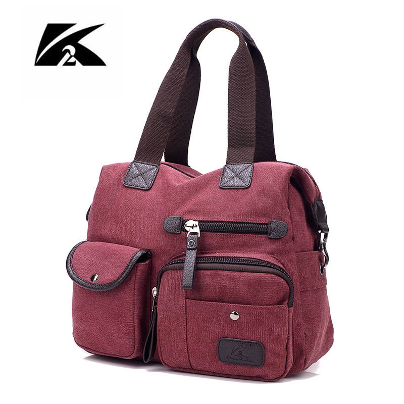 KVKY 2017 New Style Canvas Bag Women s
