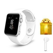 Bluetooth умные часы для apple watch series 4 VS IWO 6 с слотом для sim-карты смарт-телефон 1,54 дюймов умные часы мужские relogio + подарок