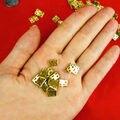 50 Unids Mini Pequeño de Metal Bisagra para 1/12 Cámara En Miniatura de los Muebles Del Gabinete