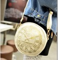 harajuku simple women bag lolita vintage gilded shoulder bag alice clock print soft sister lovely women student bag