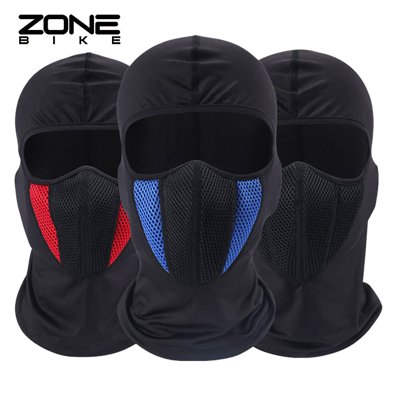 ZONEBIKE Cycling Mask Training Winter Warm Full Face Cover Windproof Thermal Ski Snowboard Hood Anti-dust Balaclavas Bike Scarf