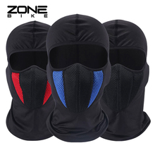 ZONEBIKE Sports Bicycle Cycling Mask Breathable Full Face Cover Black Termal Snowboard Hood Anti-dust Balaclavas Bike Scarf