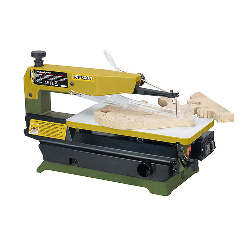 PROXXON Mini Table Type Two-speed Jigsaw Curve Sawing Woodworking Machine For Cutting Wood NO28092