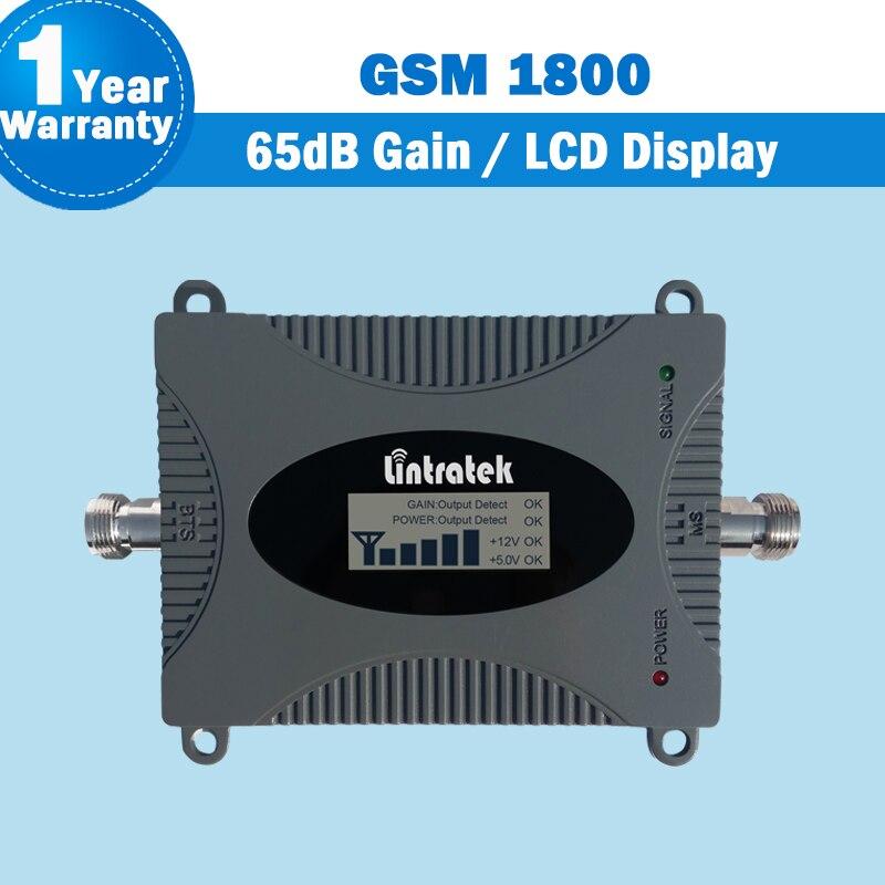 Amplificateur de Signal de téléphone portable Lintratek bande 3 1800 mhz 2G 4G LTE 1800 MHz avec répéteur de Signal d'affichage LCD amplificateur GSM maison S32