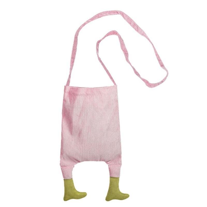 Cute Small Mini Cute Feet Canvas <font><b>Kids</b></font> Shoulder Bag Women Girls Messenger Crossbody Ladies Girl Shoulder <font><b>Handbags</b></font>