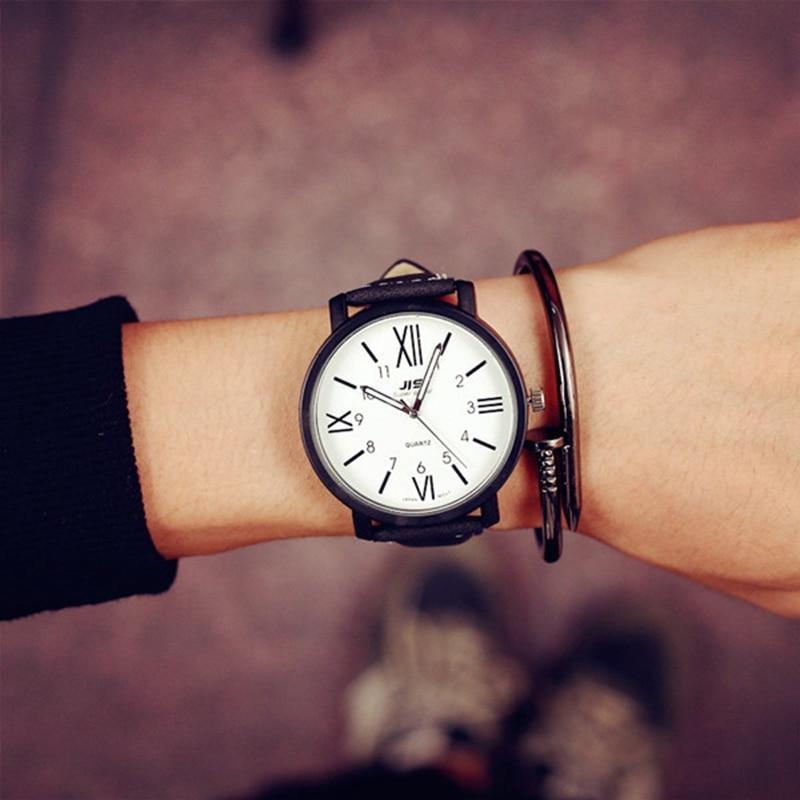 Men Quartz Watch Fashion V6 Watches Men Luxury Brand Analog Sports Military Watch Leather Men's Wristwatches Relogio Masculino цена 2017