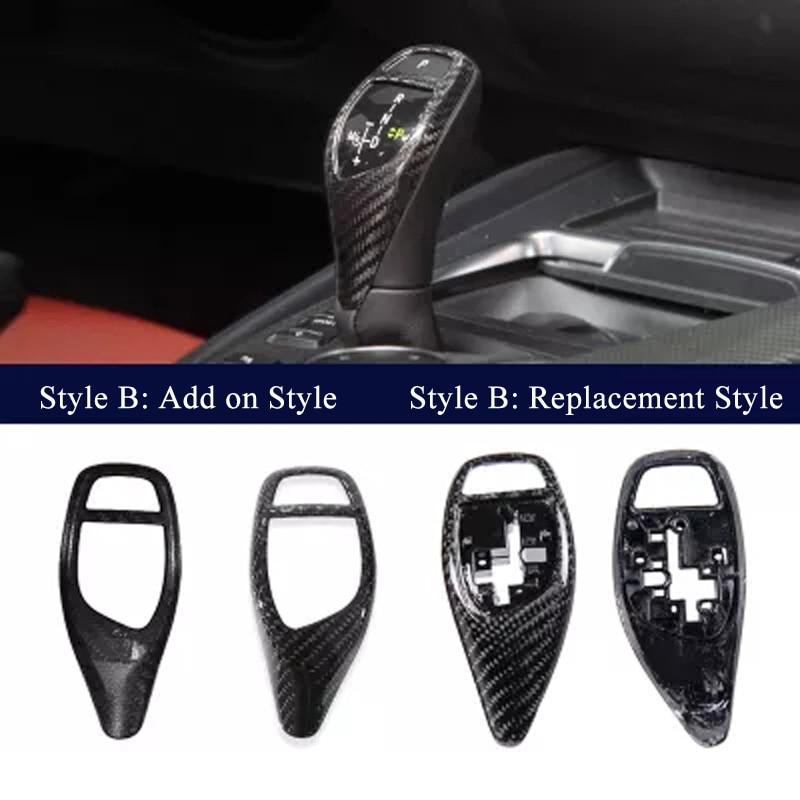 Carbon Fiber Gear Shift Knob Trim /& Surround Cover For BMW F20 F30 F22 F32 X3 X4