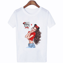 WVIOCE New Street Fashion Girl T-Shirt Summer Cute Women T-shirt Novelty Casual Ladies Tops Hipster Cool Lady Short Sleeves Tees