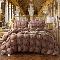2017King Queen Twin size 100% Goose Down Soft Duvet Throw Blanket   Comforter   Bedding Filler Bread Shape Quilt for Kids Adults