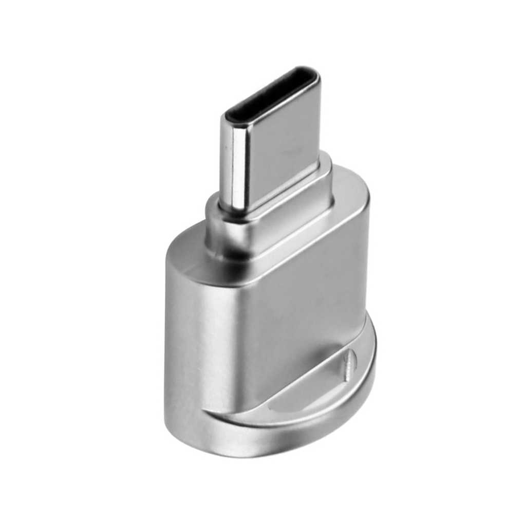 الزنك سبائك الهاتف كاميرا مايكرو SD TF بطاقة الذاكرة عالية السرعة البسيطة USB 2.0 قارئ بطاقات سلسلة المرفقة